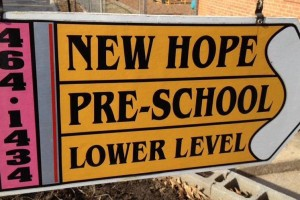 New Hope Pre-School offers multiple full day program options. Students enrolled in the full day program may arrive as early as 6:30 a.m. and must be picked up by 6:00 p.m. Our three options are M/W/F, T/TH, or M-F.   Families choose New Hope Preschool because their children experience a nurturing environment that prepares them well for success in school. Call to arrange a tour!