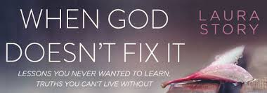 """""""When God Doesn't Fix It""""  Grammy Award-winning songwriter Laura Story had a fairy-tale life---until her husband was diagnosed with a brain tumor. Can blessings arise from broken dreams? Tackling common myths about God and hardship, she examines what happens when life doesn't turn out as we expect---and offers assurance that although our situation may never get better, we can grow  because of it.    Starts Sunday, April 15th – 9:45am in Fellowship Hall """"A""""."""