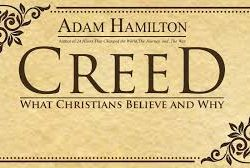 """""""Creedo"""" is the first word of the Apostle's Creed in Latin. It means """"I believe"""" ….. Join us for this six-week Sunday small group series as we explore the claims of the Apostle's Creed and discuss exactly what it means to profess this prayer as part of our Christian beliefs. We will begin our adventure on Sunday, August 11th during our 9:45 learning time in Fellowship Hall """"A""""."""